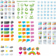 Vector de stock : Web designers toolkit - premium collection 4