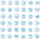 универсальный иконки — Cтоковый вектор