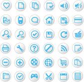 ícones universais — Vetorial Stock