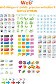 Web projektanci toolkit - kolekcja premium 4 — Wektor stockowy