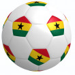 Stock Photo: Football Ghana