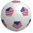 Stock Photo: Football usa