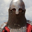 Medieval European knight - Stock Photo