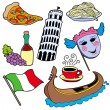 Italian collection - Stock Vector