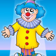 Stock Photo: Cute clown