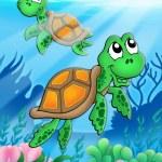 Little sea turtles — Stock Photo #2941448