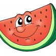 Royalty-Free Stock Photo: Smile watermelon