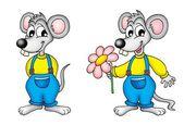 Paar van muizen — Stockfoto
