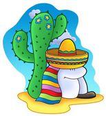 Spanie meksykańskie — Zdjęcie stockowe