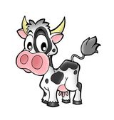Small cow — Stock Photo