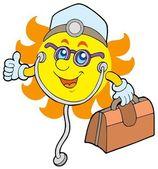 Sun doctor — Stock Photo