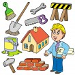 Home improvement collection — Stock Vector