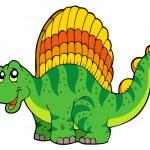 Cartoon small dinosaur — Stock Vector #3569400