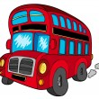 Royalty-Free Stock Vektorfiler: Doubledecker bus