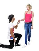 Erkek ve kız — Stok fotoğraf