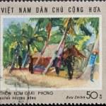 Vietnam Post stamp — Stock Photo #2752865