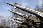 Launcher rockets — Stock Photo