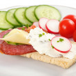 Dietetic sandwich — Stock Photo #3055218