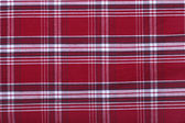 Red and white tablecloth pattern — Stock Photo