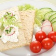 Dietetic sandwich — Stock Photo #3387578
