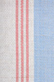Kitchen cloth striped — Stock Photo