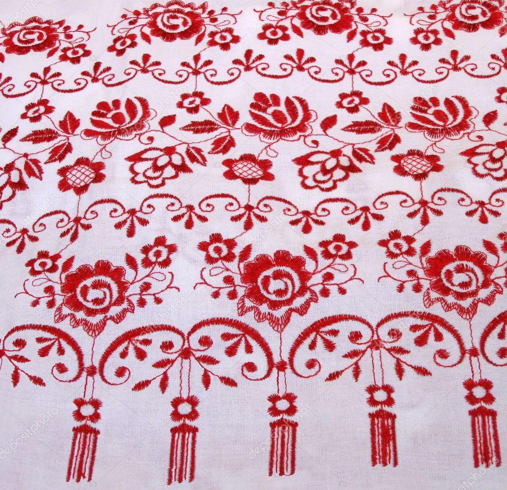 Ukrainian table cloth design concept stock photo for Table design cloth