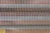 Metallic grid, industrial construction concept — Stock Photo