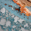 Vintage painted concrete wall, old rusty concept - Stock fotografie