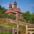 Ancient wooden church — Stock Photo