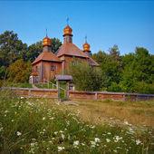 Ancient wooden church — Foto de Stock
