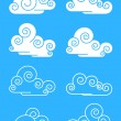 Clouds — Vector de stock #3002430