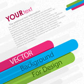 Abstract background for design — Stock vektor