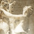 Statue At Schloss Sans Souci. Photo in old image style. — Stock Photo #3478733