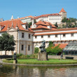The Wallenstein Garden in Prague, Czech Republic. - Foto de Stock  