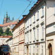 Old Prague streets. — Stock Photo