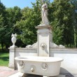 Stock Photo: Bath statue at Schloss Sans Souci.