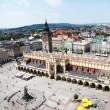 Main Market Square Cracow Poland — Stock Photo #3479258