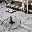 Main Market Square Cracow Poland - Stock Photo