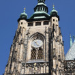 St. Vitus Cathedral Prague Castle Czech Republic - Stock Photo