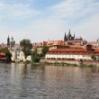 Prague - The old Town, view from river — Stock Photo