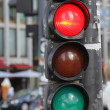 Pedestrian's traffic-light — Stock Photo