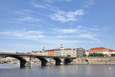A view of the beautiful Prague — Stock Photo