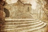 Historical castle near Odessa in village Petrovka (Ukraine) — Stok fotoğraf