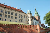 Wawel castle in Krakow — Foto Stock