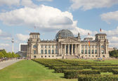 Reichstag in Berlin, Germany — Stok fotoğraf