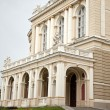 Opera-house in Odessa and clouds sky in the background — Stock Photo
