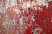 Vecchio muro rosso — Foto Stock