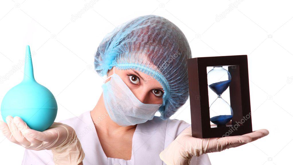 медсестры клизмы смотреть