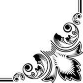 Art floral elements — Stock Vector