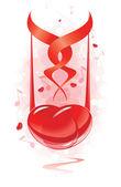 Balada de amor — Vetorial Stock
